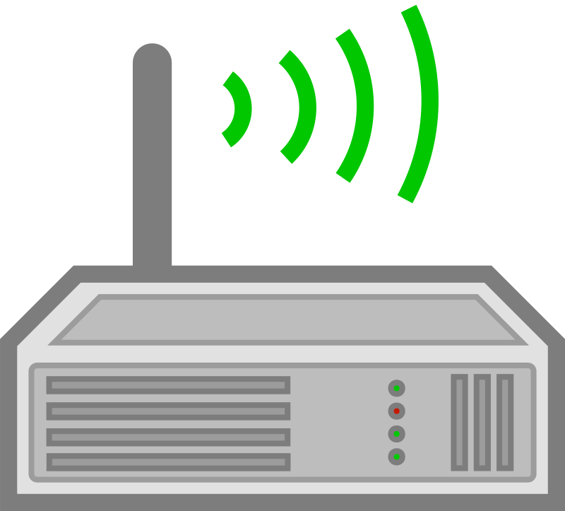 Wireless Router by cyberscooty