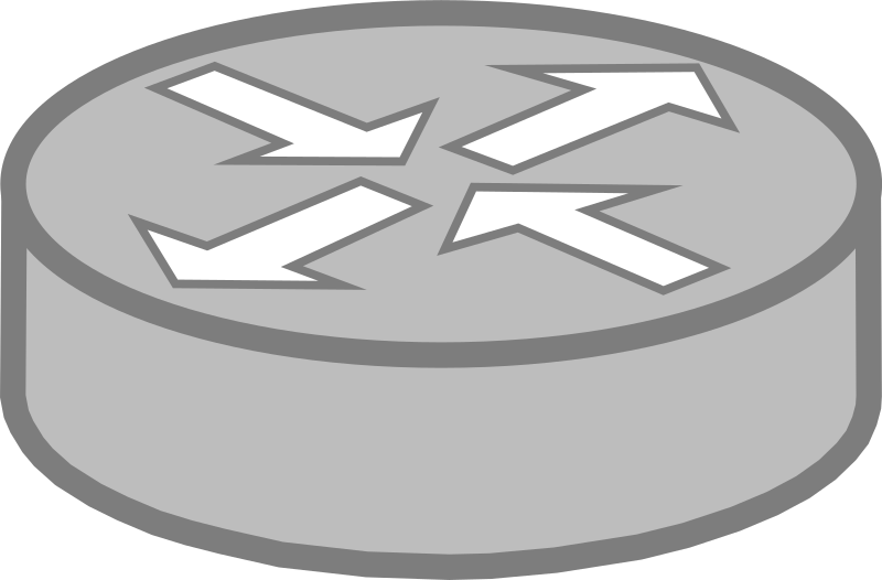 Clipart - Router symbol