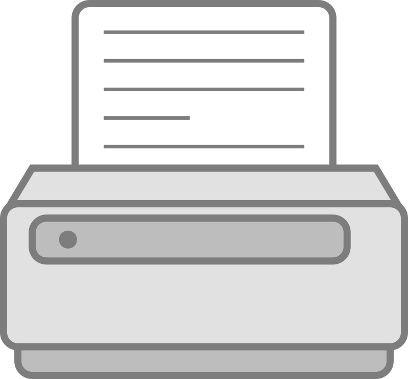 Printer by cyberscooty - a printer icon