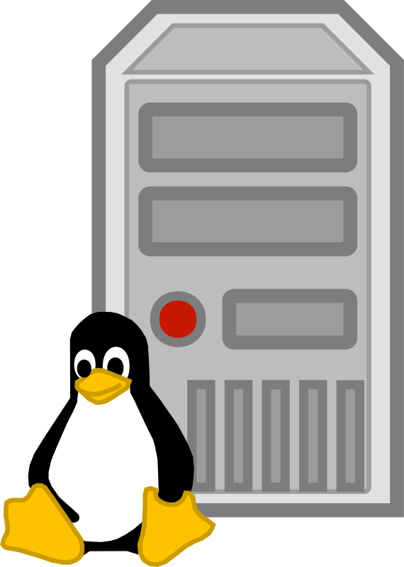 Server - linux by cyberscooty - a linux server icon