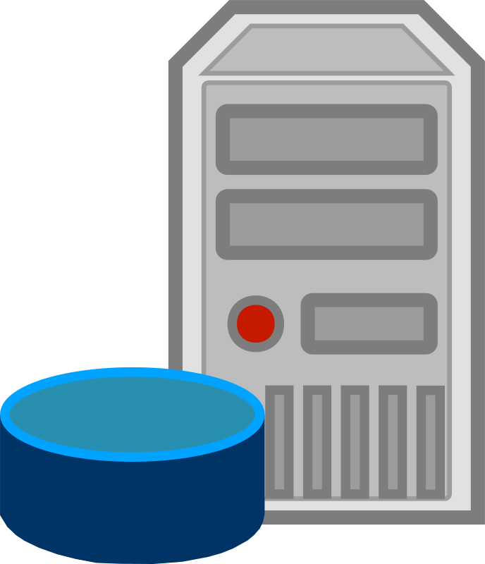 Clipart - Server - database