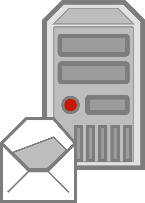 Server - emails by cyberscooty - a email server icon