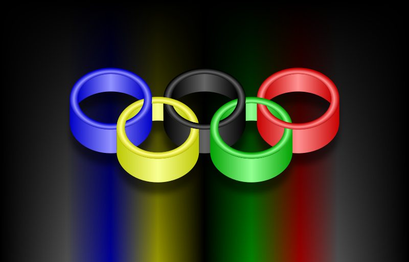 Olympic Rings 2 by gustavorezende - Olympic rings.