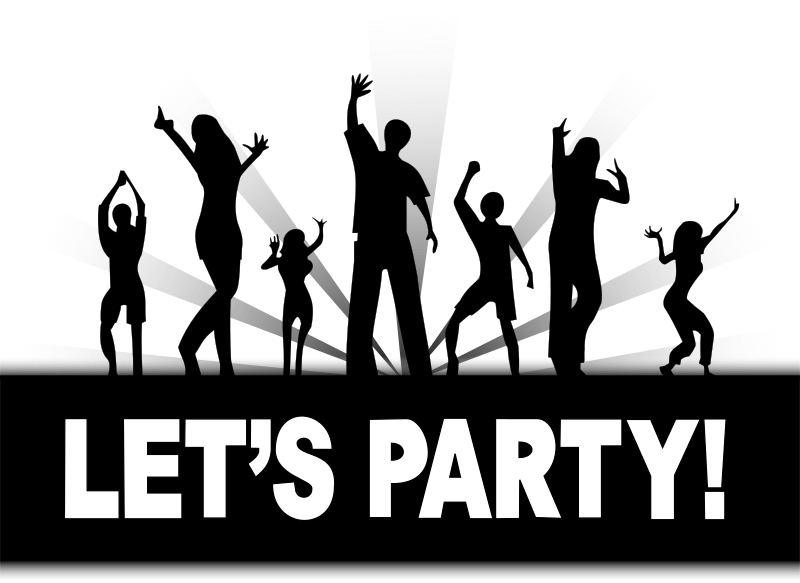 Let's Party by cyberscooty - poster let's party