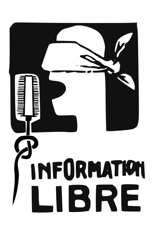 Information libre (Free Information) by ben - Converted poster made during the strikes in May 1968 - Paris - France