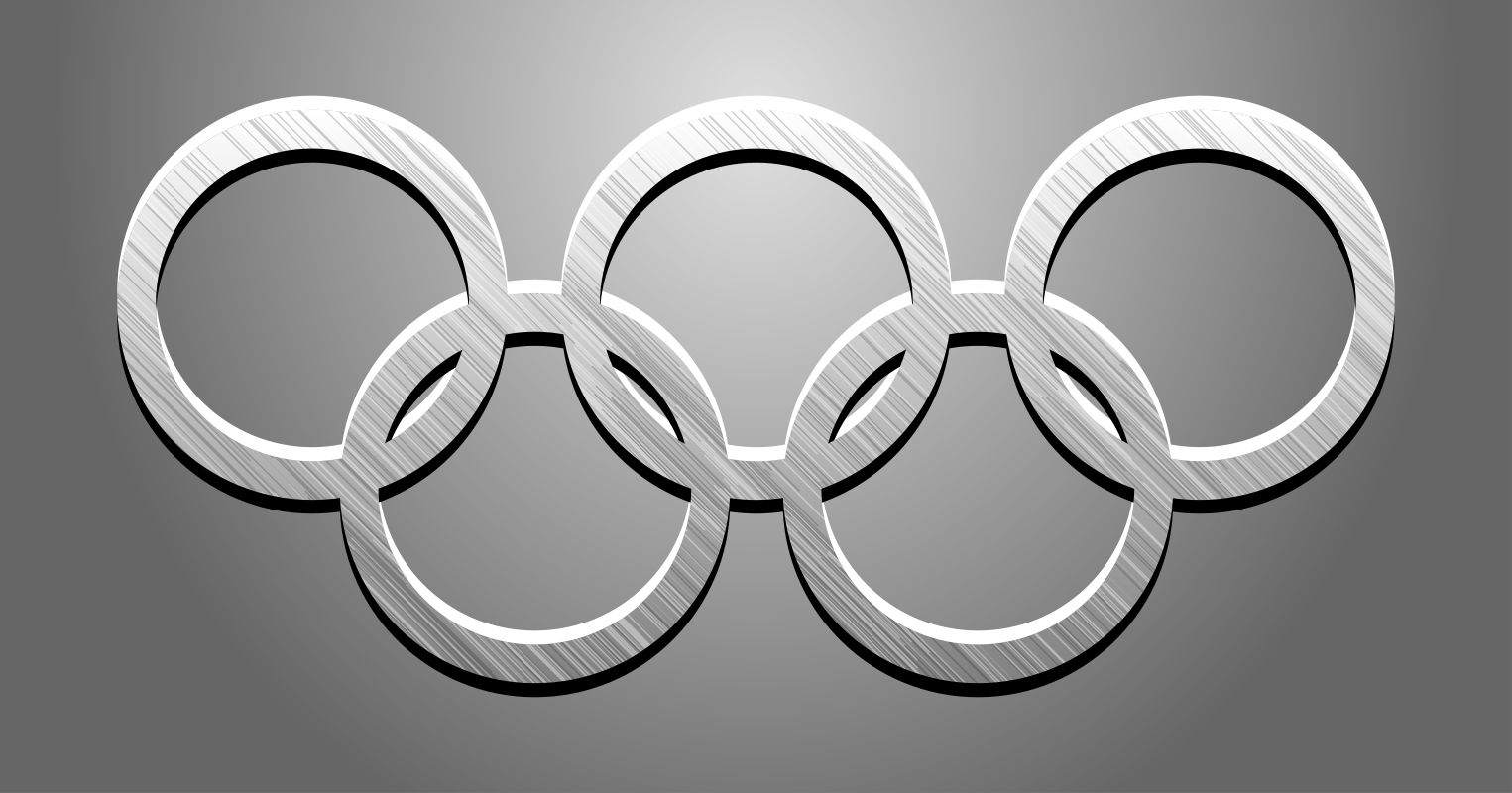 Olympic Rings 3 by gustavorezende - Another version.