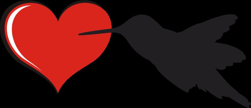 Clipart - Bird-heart