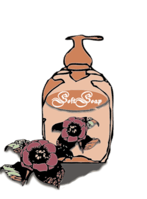Softsoap by Fractalbee - When we wash our hands, we can use softsoap. It must clean our hands and after that, we want to smell wonderful. So why not use this softsoap with Rose fragrance and after washing the feeling of a velvet skin.