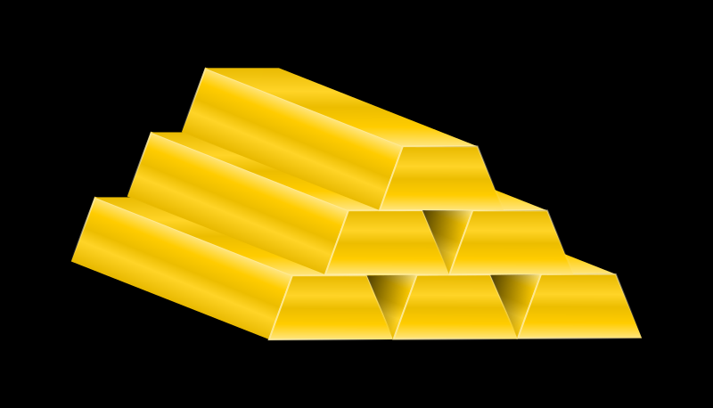 Gold Bars by gustavorezende - Gold bars.