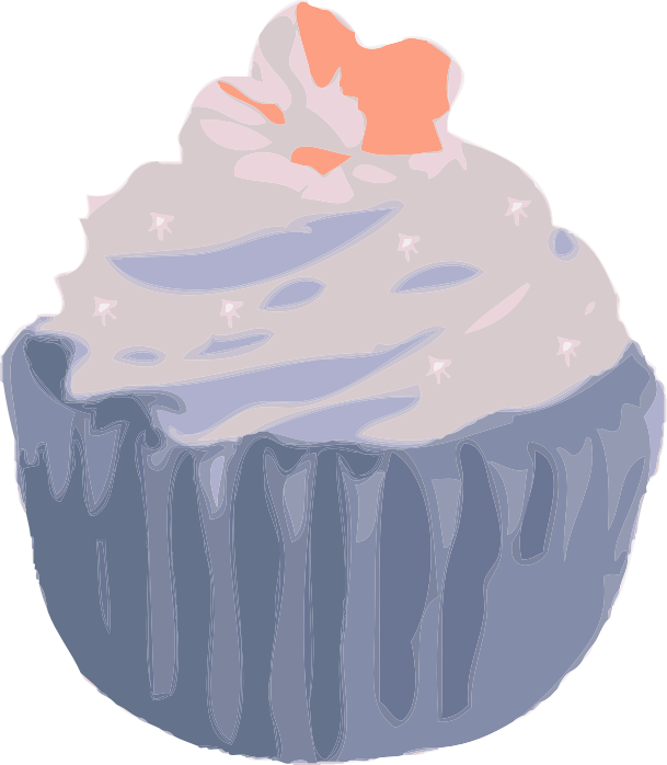 Cupcake by Fractalbee