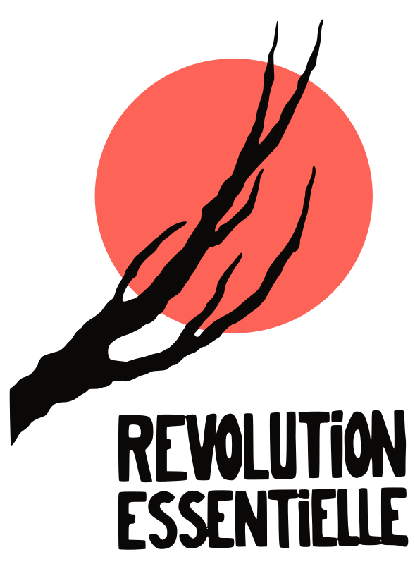 Révolution essentielle by ben - Converted poster made during the strikes in May 1968 - Paris - France