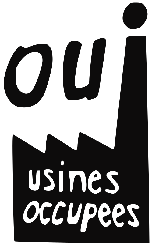 Usines occupées by ben - Converted poster made during the strikes in May 1968 - Paris - France