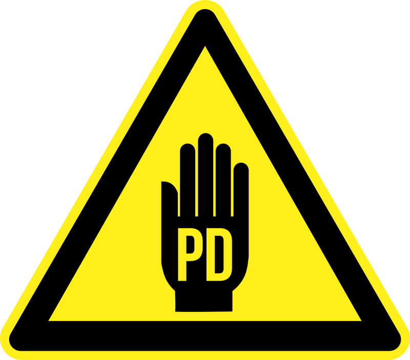 how to make pd sign
