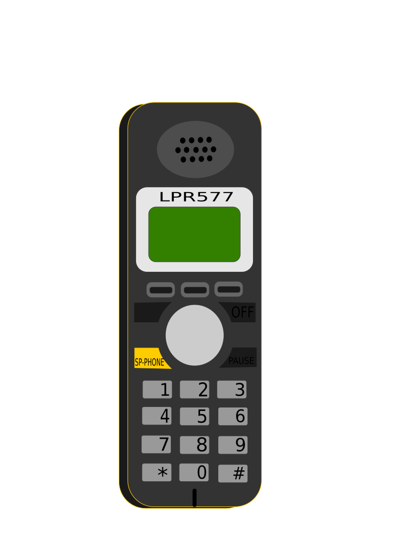 Cordless by lpr577 - a mobile phone