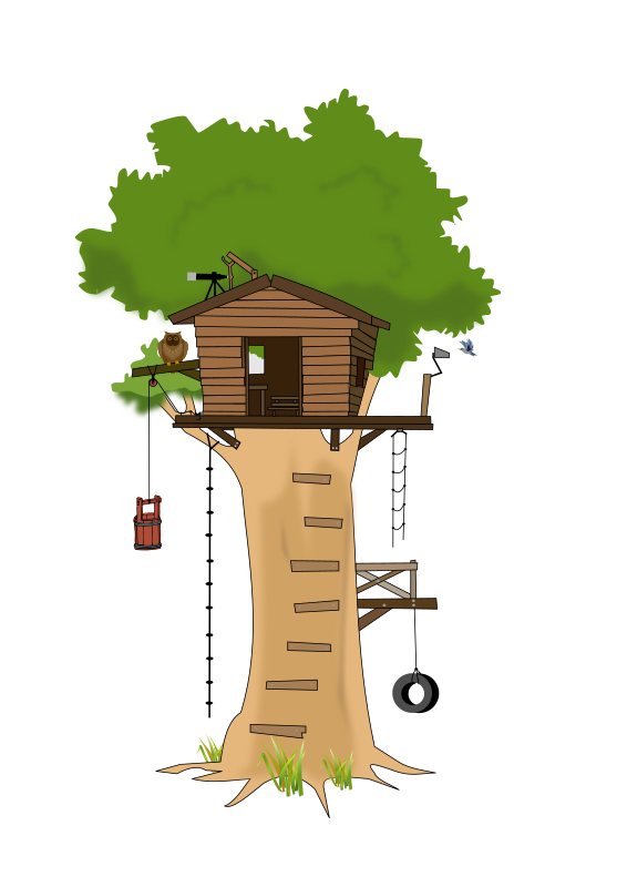 Tree Club House by sammo241 - remember the old days