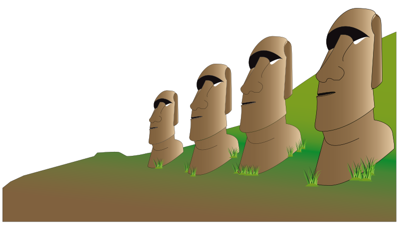 Easter Island by presquesage
