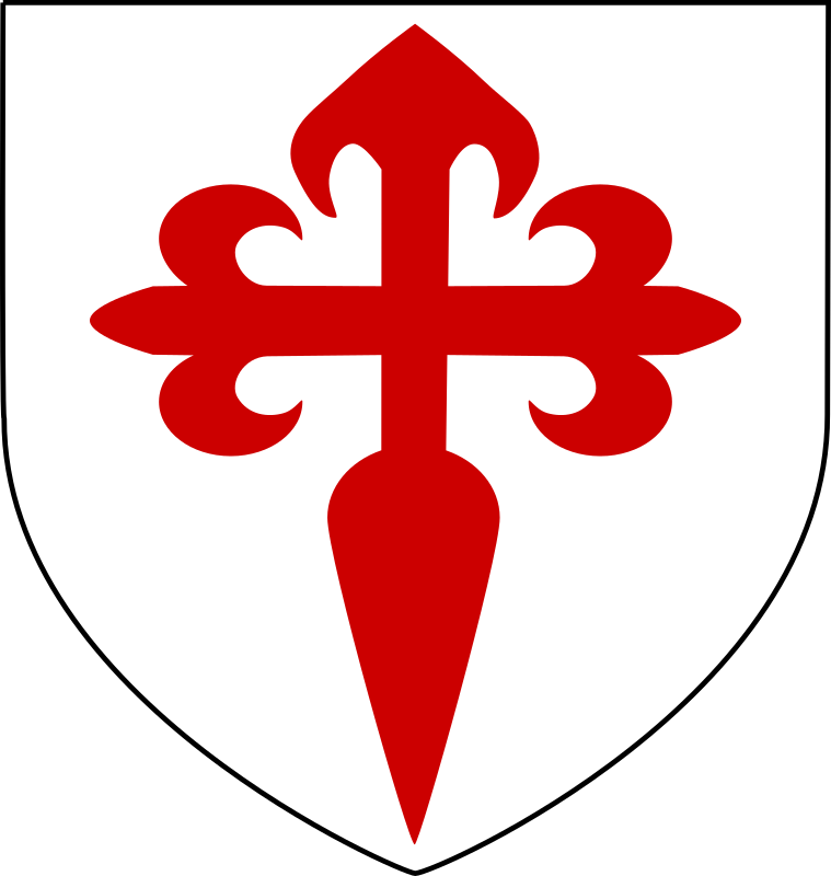 Blason St Jacques de l'épée by laurent -