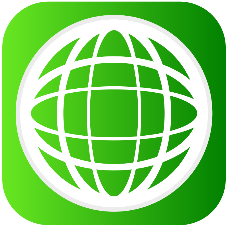 green globe by areksvg - Next svg in my icon pack