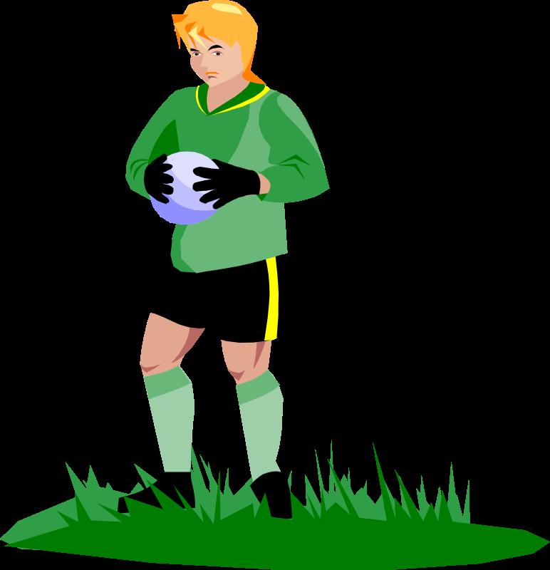 Clipart - soccer