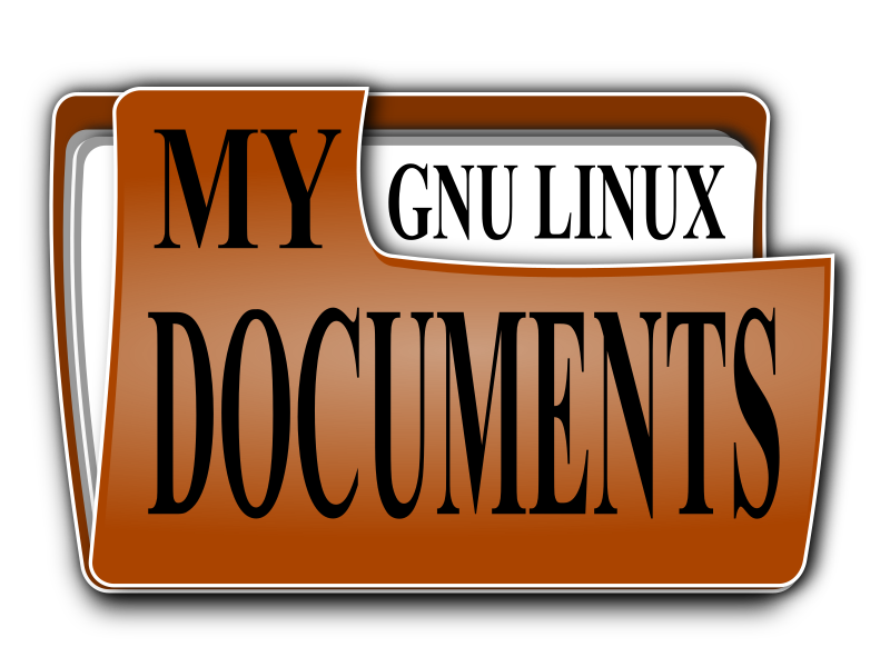 my documents by hatalar205 - A my document icon.