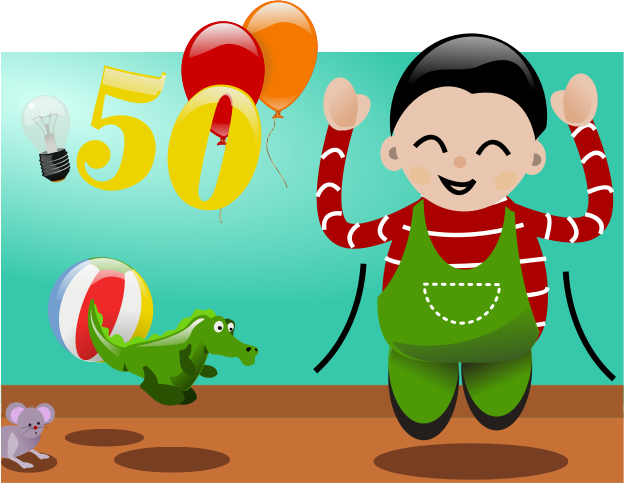 Happy to be 50 by laterra