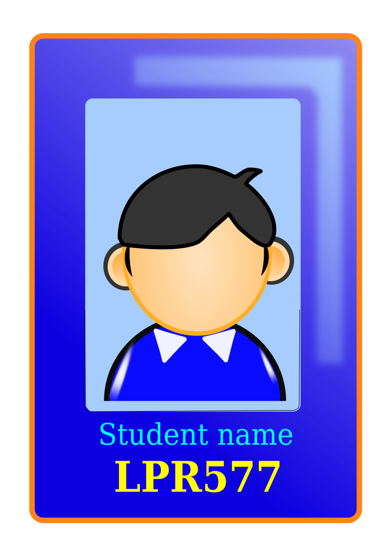 User Identity by lpr577 - a user identification card
