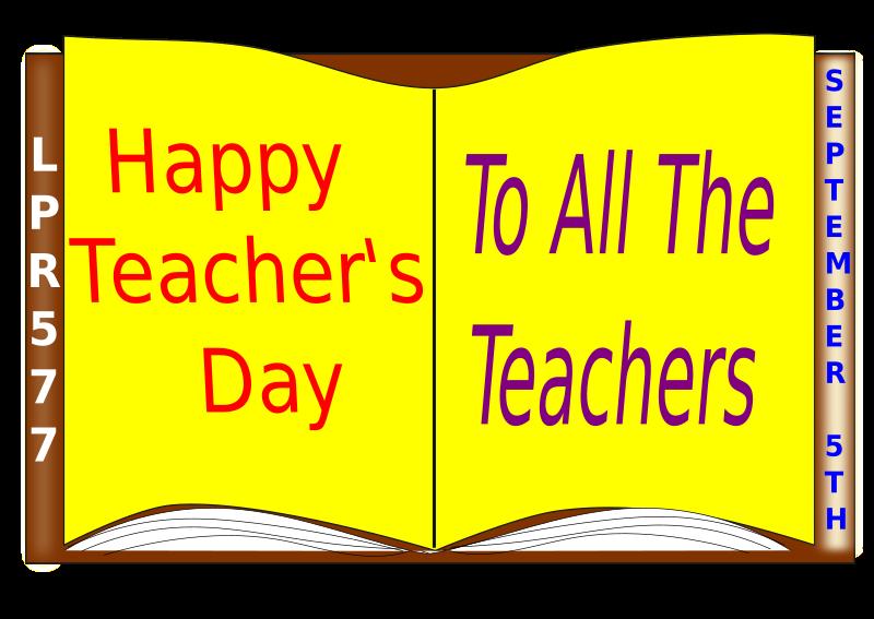 clipart for teachers day - photo #18