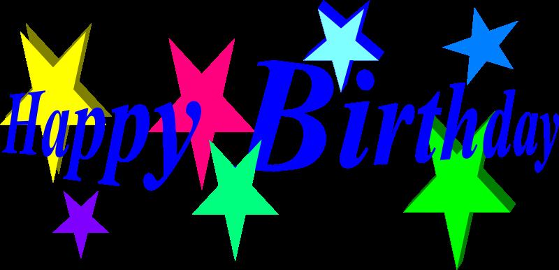 happy birthday by bobby520 - happy birthday with stars.