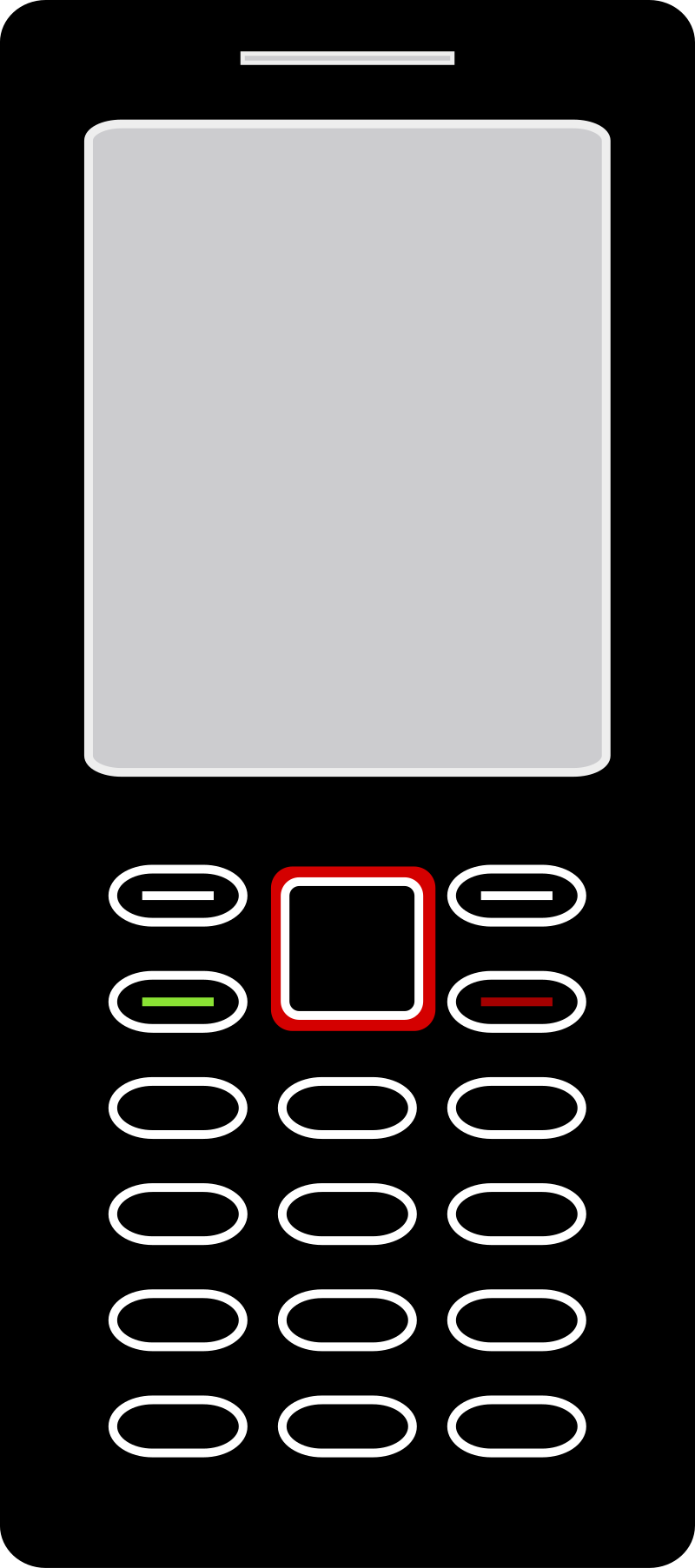 Cellphone by SOlvera - A basic cellphone design.