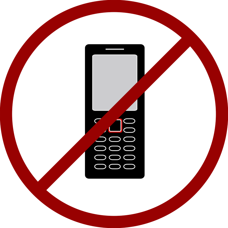clipart cell phone use - photo #12