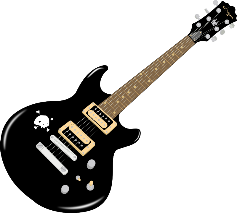 Guitar by SOlvera - An electric guitar, I used in one of my artwork, now I released as a clipart.