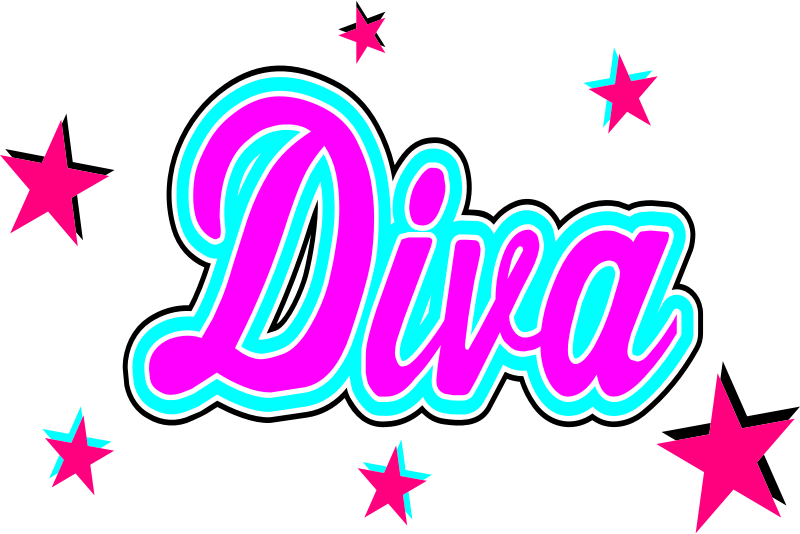 Clipart - Diva