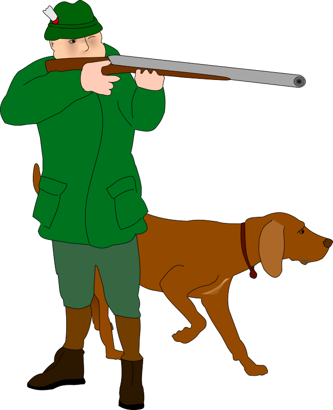 Hunter by frankes - Hunter with dog.