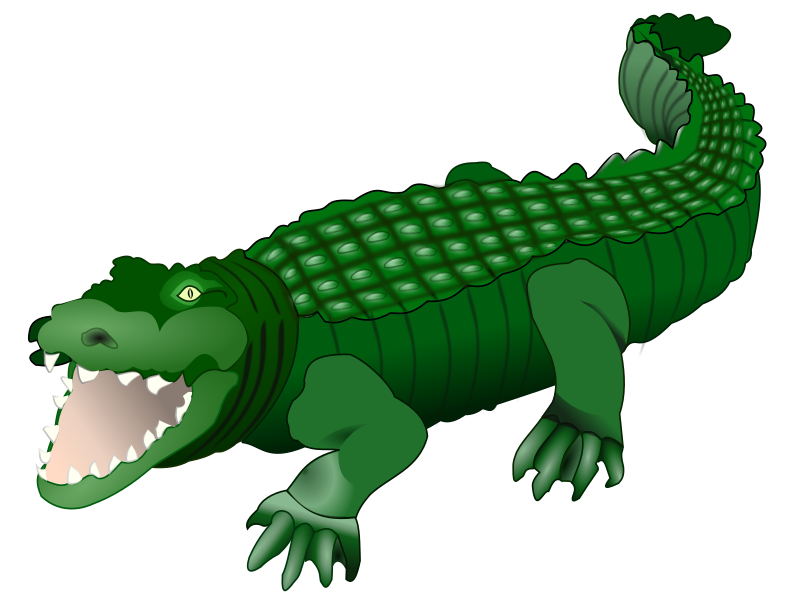 Crocodile by frankes - drawn crocodile