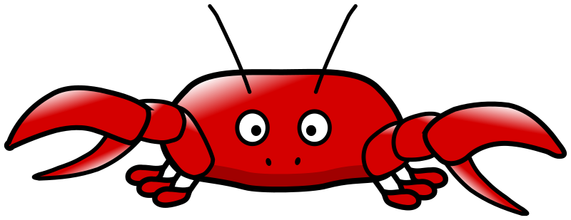 cartoon crab by hatso1 - Cartoon crab in the style of Lemmling