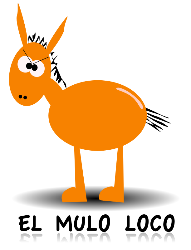 El mulo loco by massimo - A crazy mule from Sicily, new version