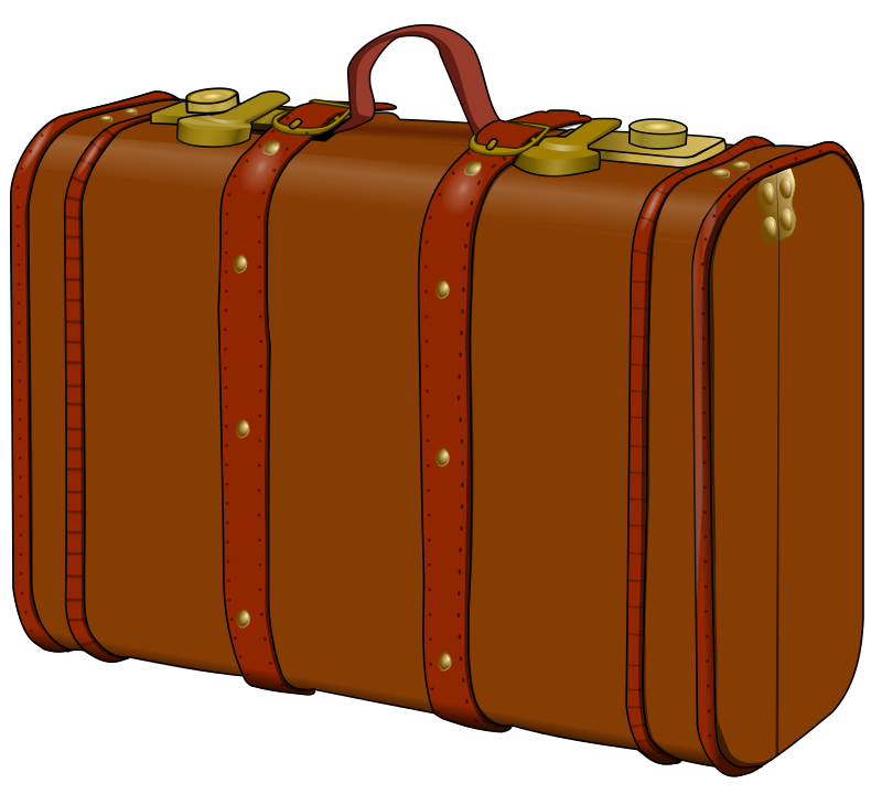 suitcase by frankes - an old fashioned suitcase