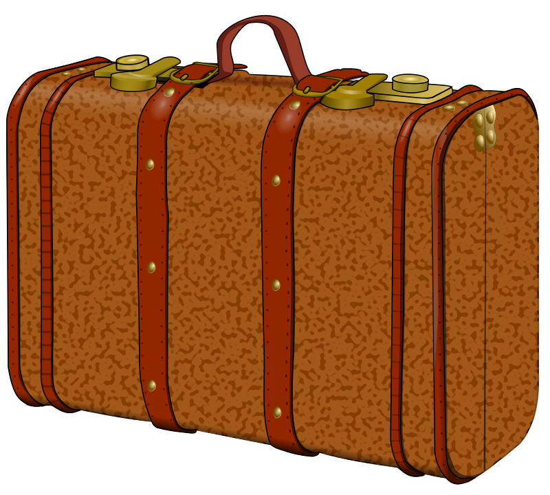 suitcase with stains by frankes