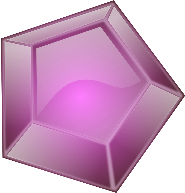 Diamond Remix 1 by Merlin2525 - A Purple Coloured Remix of PeterM Diamond.