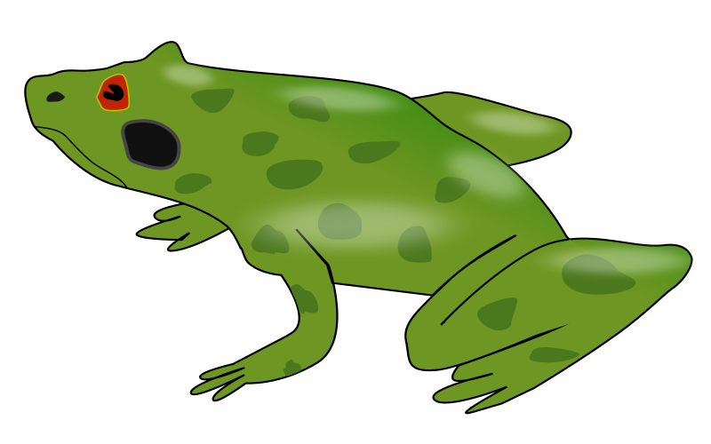Farmer's Natural Helper by lpr577 - A frog. Created by balaswecha developer Prabhat