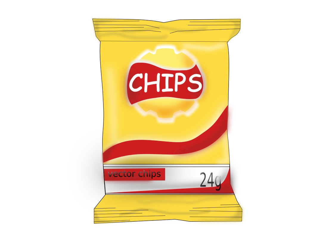 Cartoon Bag Of Potato Chips | www.imgkid.com - The Image ...