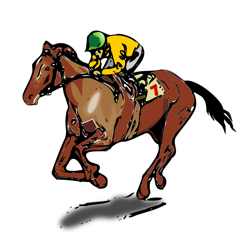 Jockey by tuxflo - Picture of a Jockey on a Horse