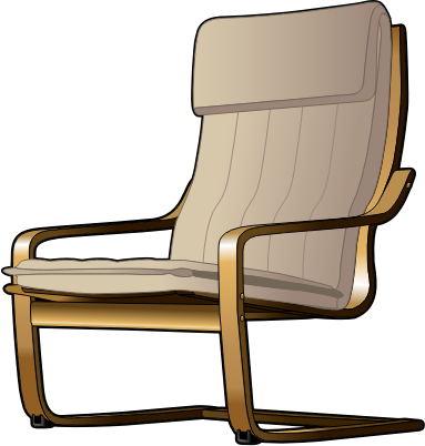 Clipart armchair 2 for Bureau transparent