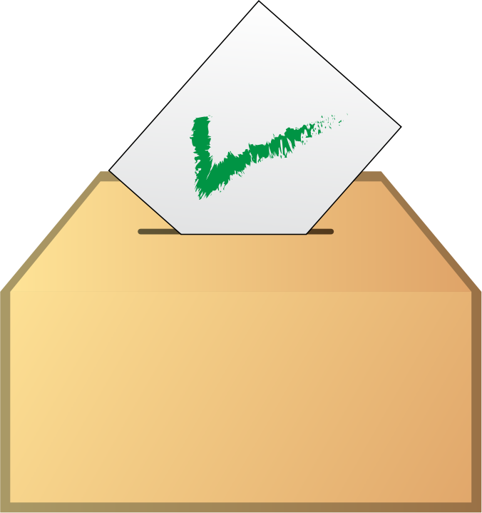free clipart vote yes - photo #28