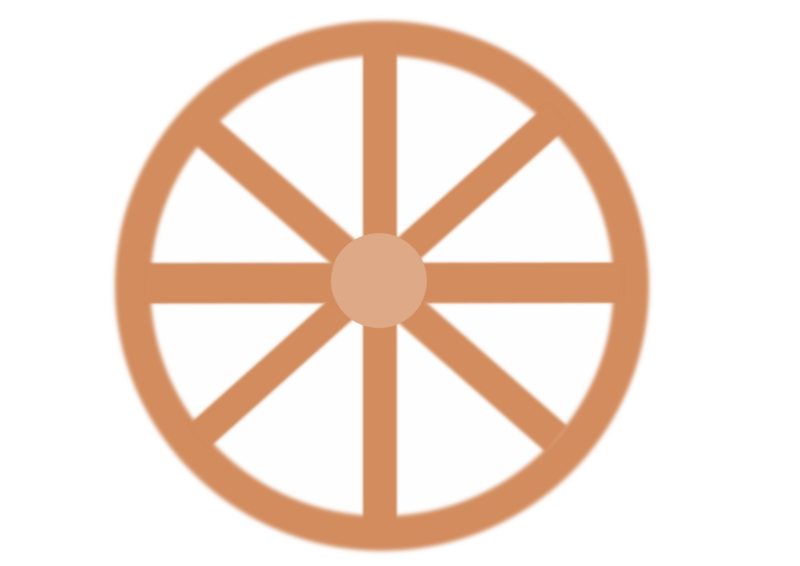 Cart wheel by ksrujana96 - it is created by swecha developer and contributer k.srujana