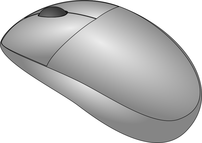 Mouse by HeyYO - A clean cordless mouse drawing