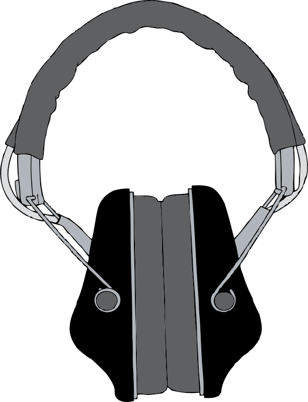 headphones 2 by johnny_automatic - a pair of stereo headphones from a U.S. patent drawing