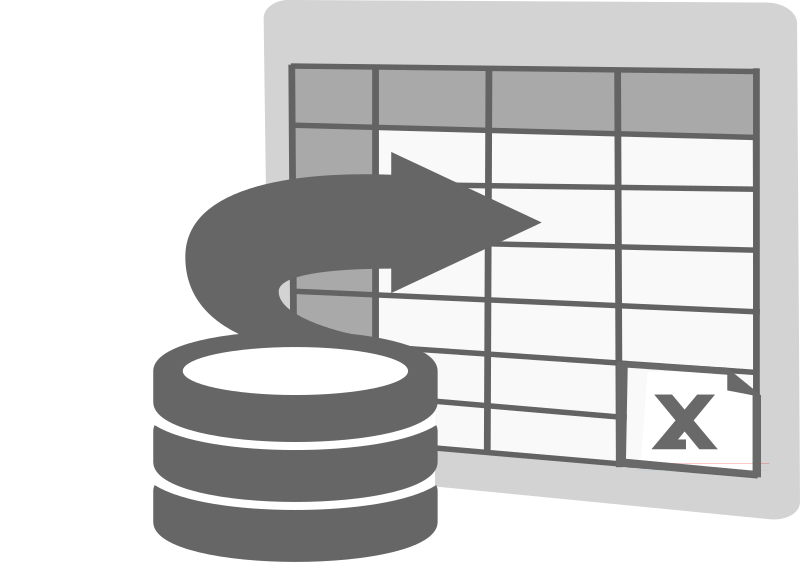 Import to Excel Icon by ben