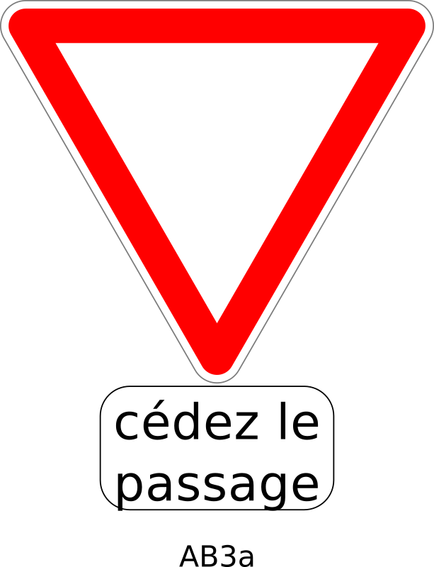 Ab3a by Desmoric - Road, Sign, France