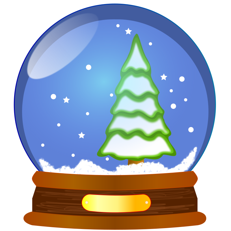clipart snow globe rh openclipart org animated snow globe clipart snowman snow globe clipart